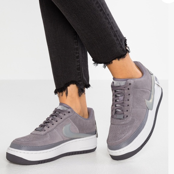 Nike Air Force Jester Gunsmoke Grey W